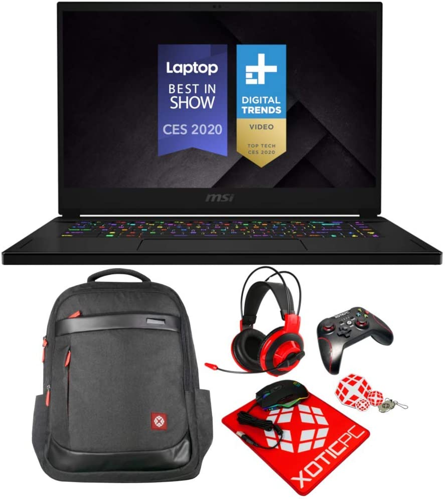 MSI GS66 Stealth 10SFS-032 (i9-10980HK, 64GB RAM, 1TB NVMe SSD, RTX 2070 Super 8GB, 15.6