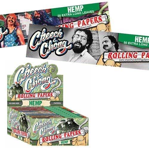 Cheech & Chong Hemp Rolling Papers - King Size (1)