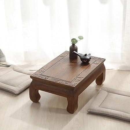 Tables De Chevet Table De Fenetre En Bois Massif Tatami Table