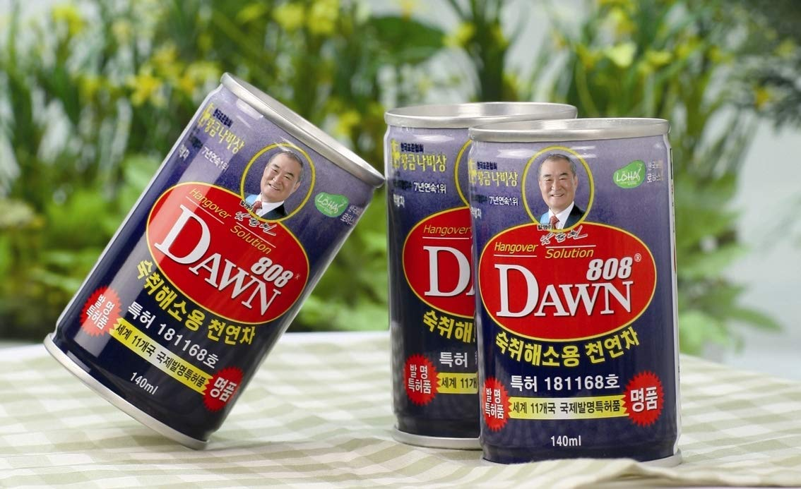 Dawn808 Hangover Solution | Relieves Hangovers | Quickly Breaks Down Alcohol | Detoxifying Herbal Tea | 100% Natural Ingredients | Can be Taken Before, During, or After Drinking | 3 Count