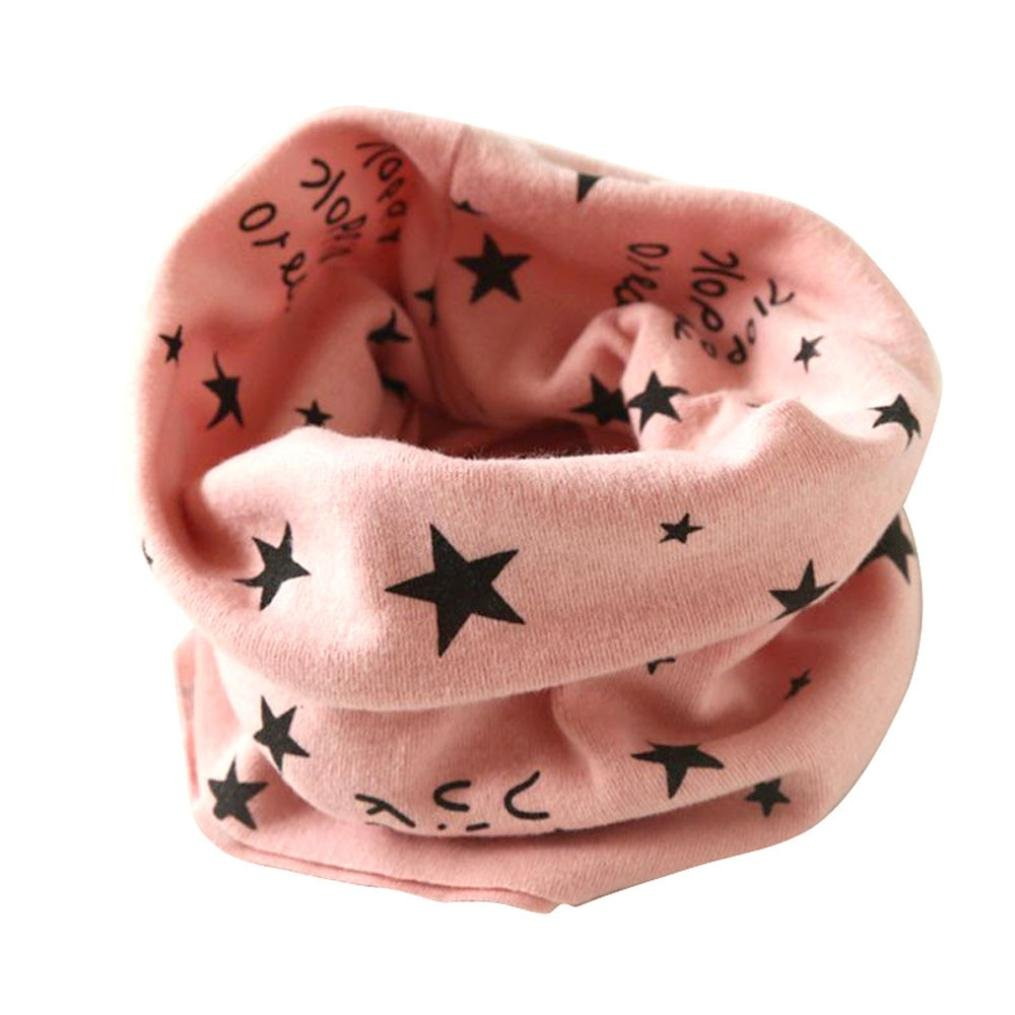 Koly Autumn Winter Baby Girl Boy Collar Scarf Cotton O Ring Neckerchief Scarves (Purple) Koly-SF52