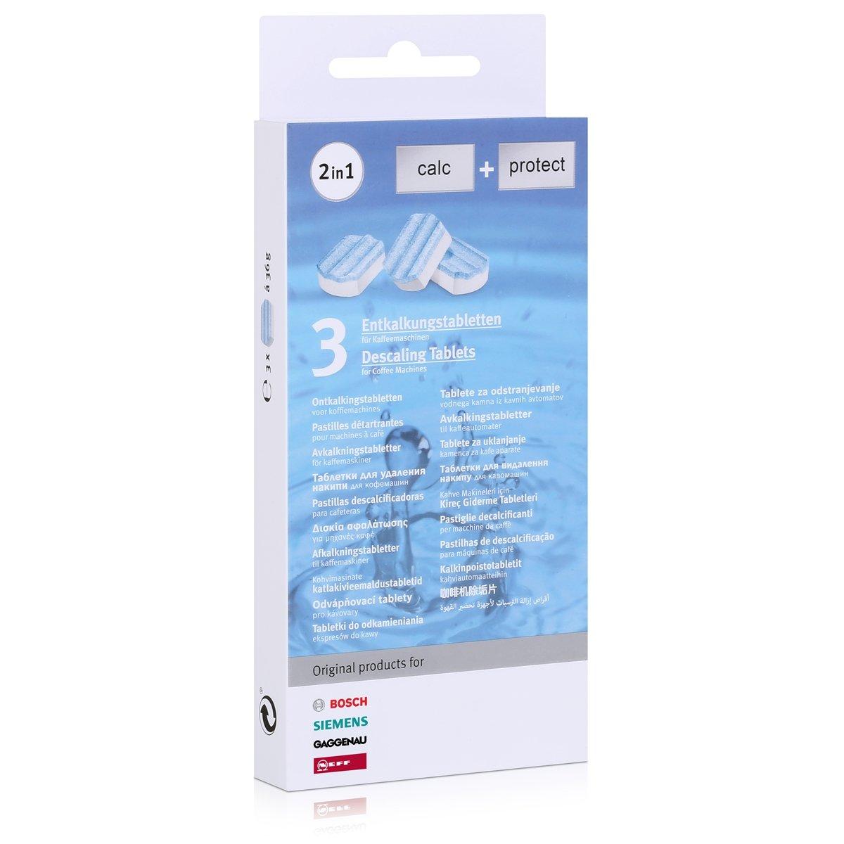 6/x 3/Bosch Siemens/ 00311819 /Pastillas descalcificadoras