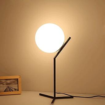 DESIGN LED Schreib Tisch Lampe Büro Lese Kugel Beleuchtung Wohn Schlaf Zimmer