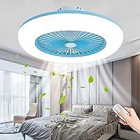 80W Plafondventilator LED Verlichting Ventilatorlicht Creatief Dimbaar Ventilator Plafondlamp Moderne Afstandsbediening…