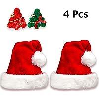 Jonami 2 Gorros de Papa Noel + 2