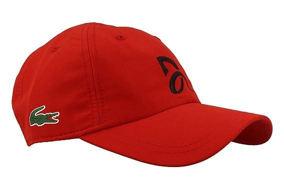 9bf1c6c16c Lacoste Cap RK3881-240 RED Novak Djokovic: Amazon.co.uk: Clothing