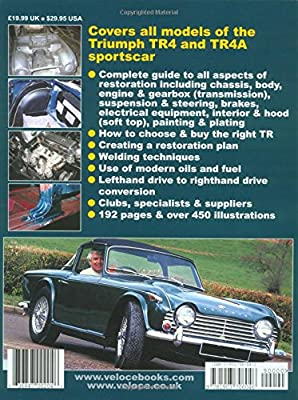 How to Restore Triumph TR4 & TR4A (Enthusiast's Restoration