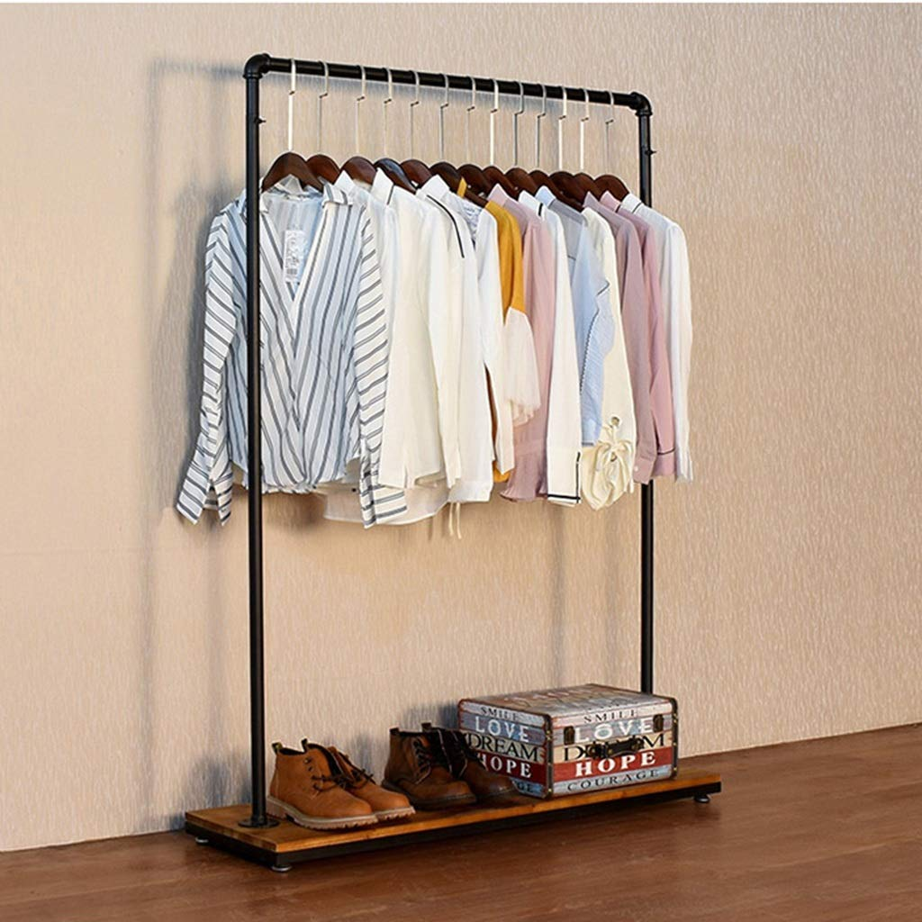 Amazon com: Floor-Standing Hangers Side Hanging Clothing