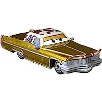 Disney and Pixar Cars Tex Dinoco, Miniatura, Coleccionable Racecar Automóvil Juguetes basados en Coches películas, para…