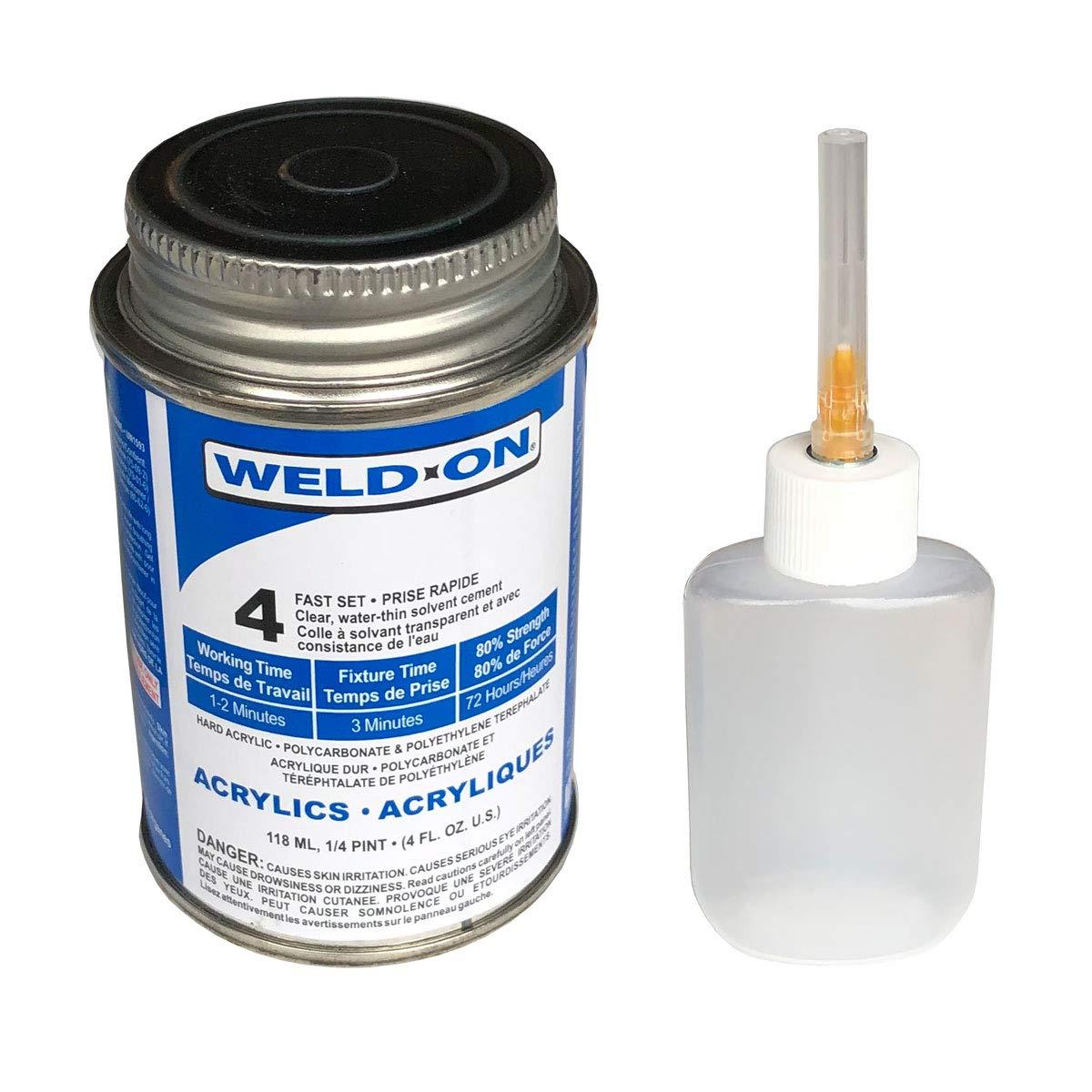 Weldon #4 with Applicator Bottle - 1/4 Pint - 4oz - 10308 - 1 each