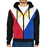 JimHappy Men's Flag Of The Philippines Long Sleeve