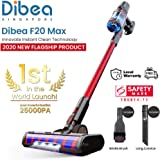 Dibea F20 Max Flagship Product Lightweight Cordless Stick Vacuum Cleaner,Red