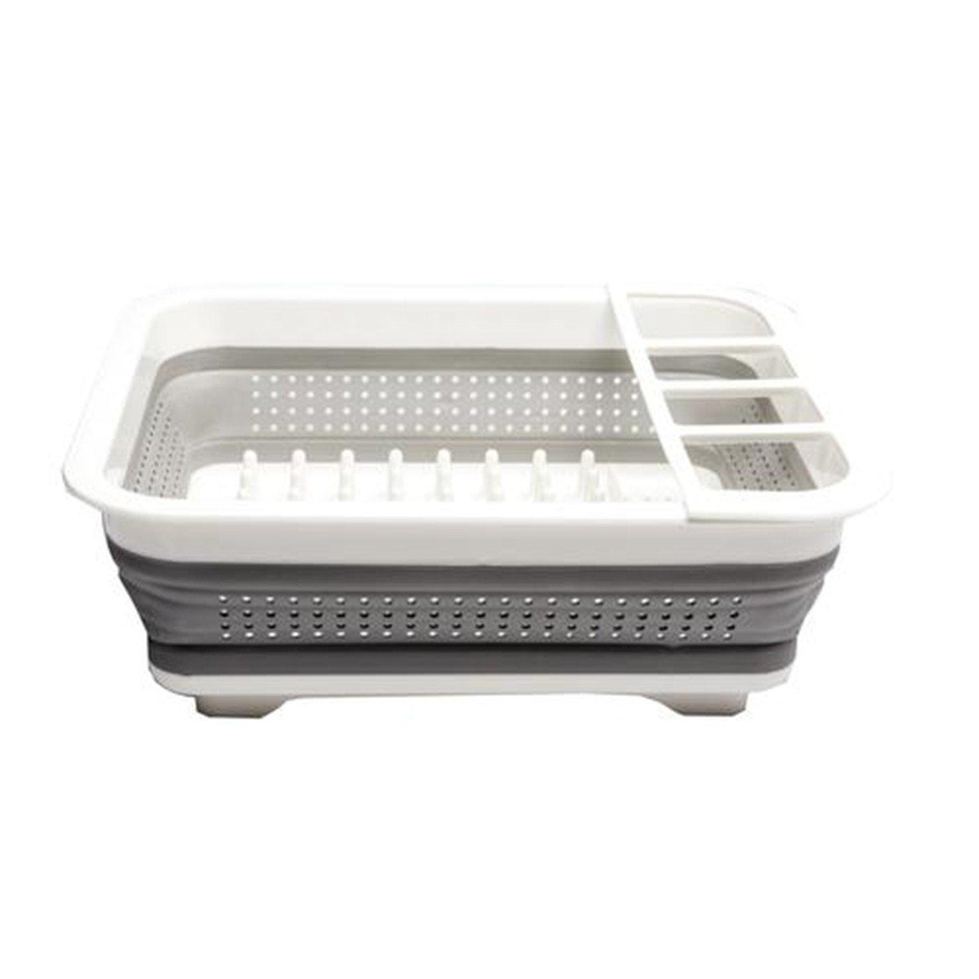 Purposefull–scolapiatti pieghevole in silicone–bianco Purposefull Products