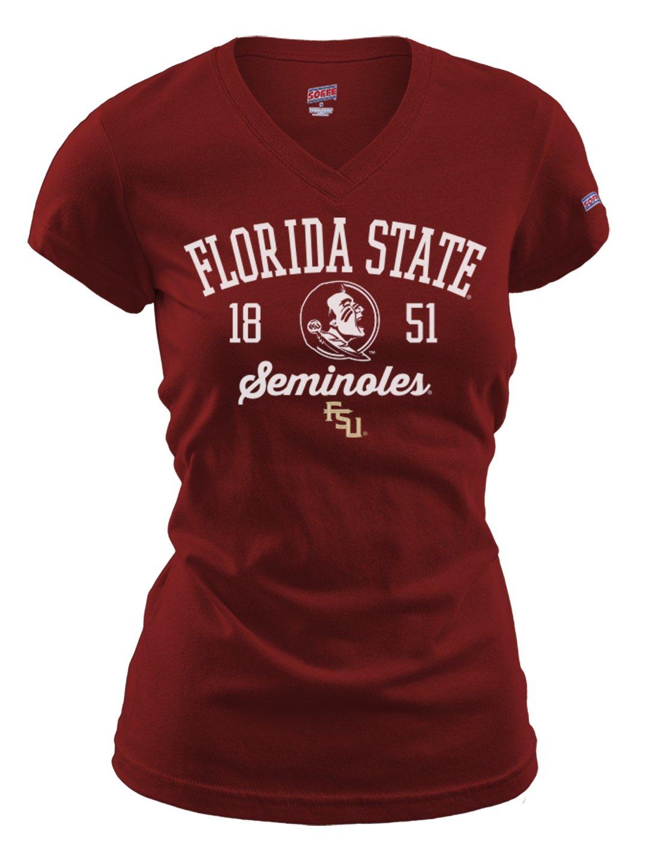最新作の NCAA Large B00O58X6PE Florida State Florida Seminoles女性用フィットCollegiate基本的なロゴVネックTee Large B00O58X6PE, 柳川市:b4cd28a7 --- a0267596.xsph.ru