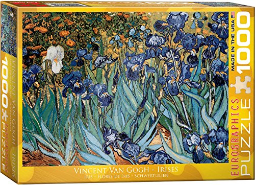 EuroGraphics Irises by Vincent Van Gogh Puzzle (1000-Piece)