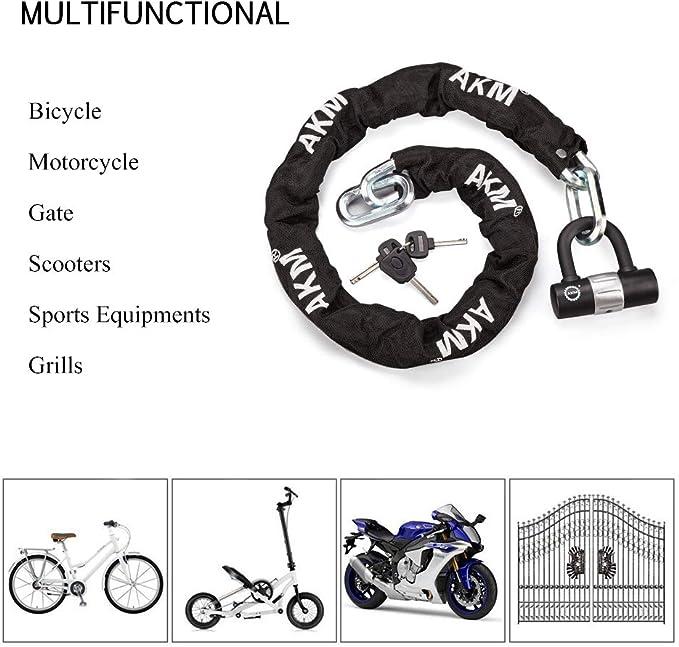 Black 60mm*50mm perfk Locking Disc Brake Key Lock Anti-theft For Bike Motorcycle