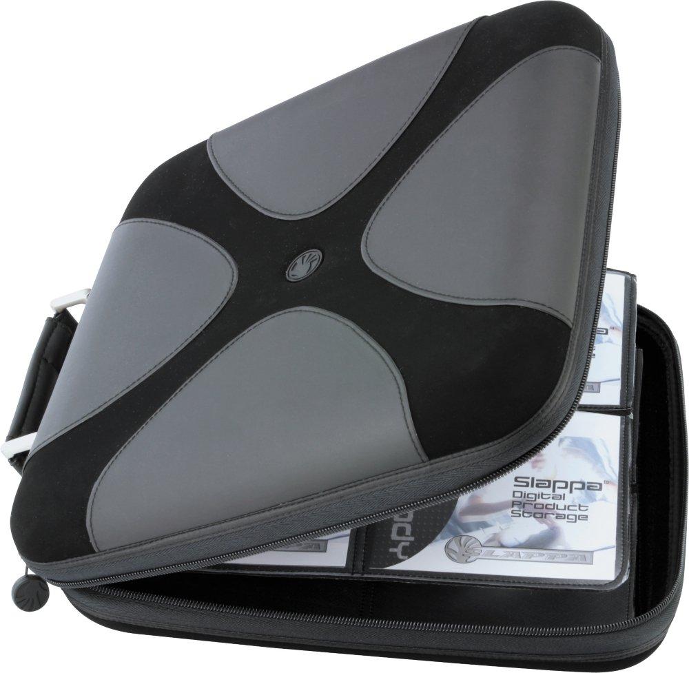 Slappa SL-16008 160 CD Black Suede Series Cases