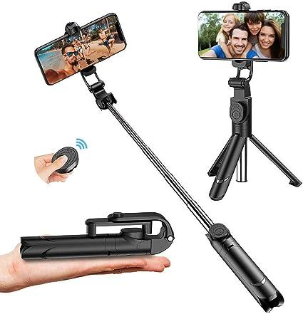 Selfy SELFIE BASTONE Monopiede Fotocamera Estensibile Smart Phone Mobile iPhone Samsung