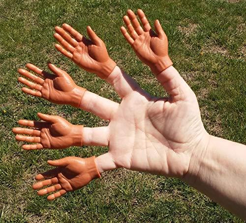 [해외]5 손가락 손잡이 - 다크 (벌크 - 박스 없음) / 5 Finger Hands - Dark (Bulk- No Box)