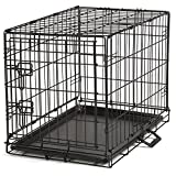 Cheap Proselect Easy Dog Crates for Dogs and Pets – Black; Large