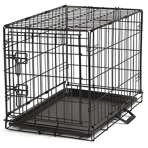 German Shepherd Labrador Retriever (Proselect Easy Dog Crates for Dogs and Pets - Black;)