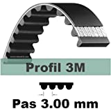 Courroie Crantrée 225 3M 17 mm