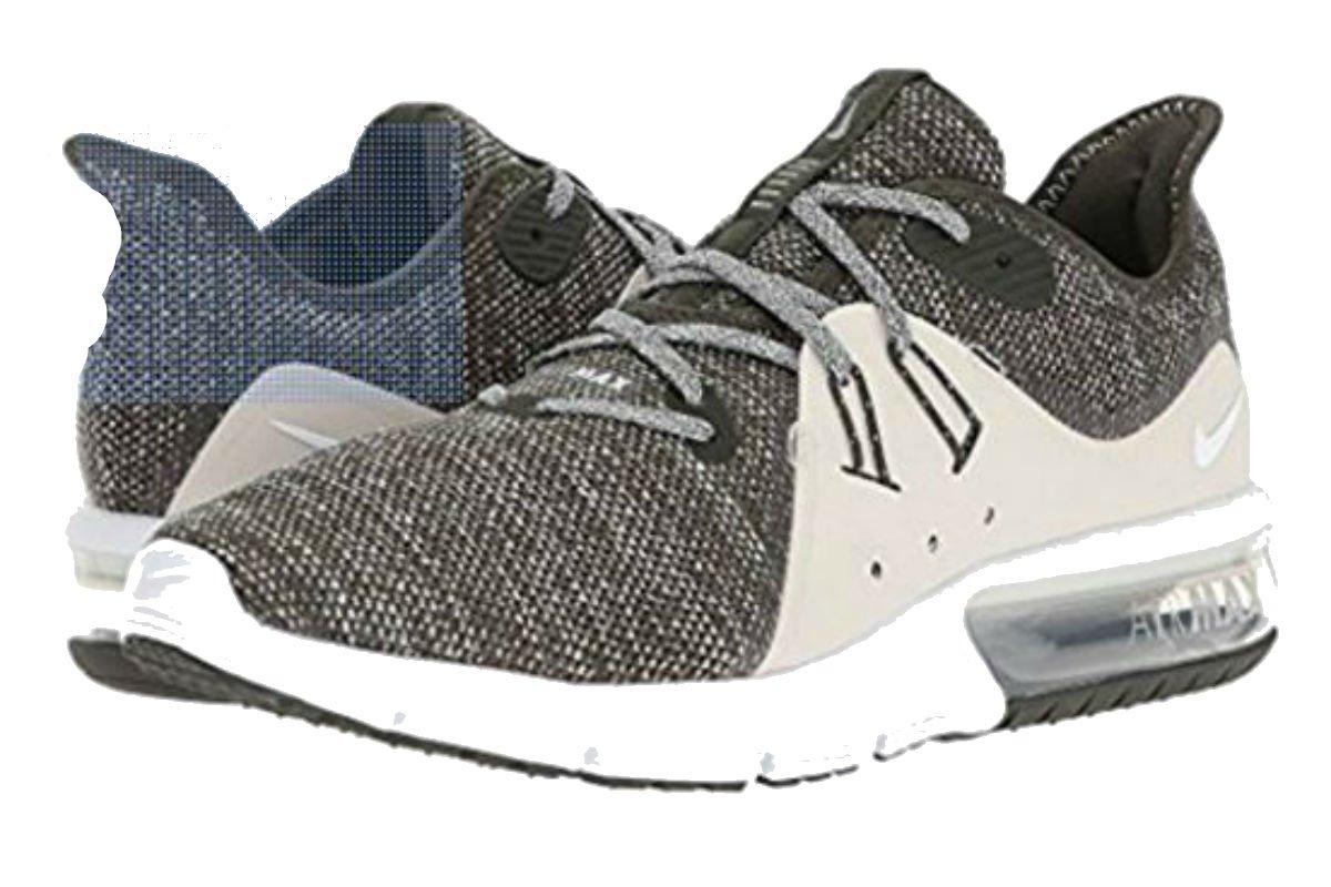 Sconto Nike Air Max Sequent 3 Uomo Running Sequoia/Summit Bianco/Light Bone