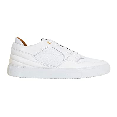 b3230e651722 Android Homme White Mens Sneakers ANDR6244  Amazon.co.uk  Shoes   Bags