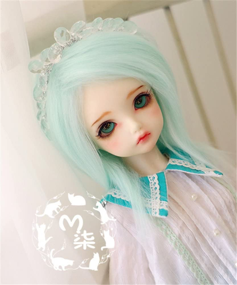 "New 1//8 Girl BJD SD Doll Wig Dollfie 5/"" DZ DOD LUTS Bjd Doll Wig Short Wig"