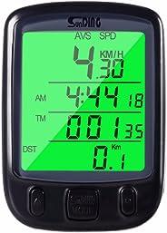 Ciclo Computador Velocímetro Para Ciclismo Preto Bi091 Átrio