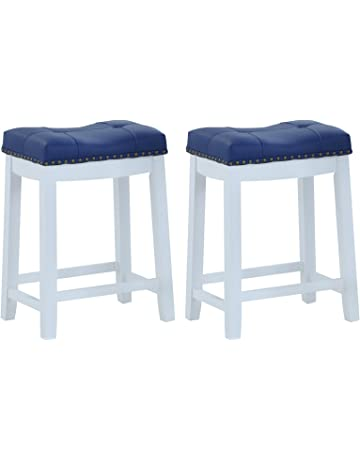 6460ed041f8 ... Stools Counter Height Modern Adjustable Synthetic Leather Swivel Bar  Stool · Angel Line Cambridge Padded Saddle Stool with Cushion - Parent