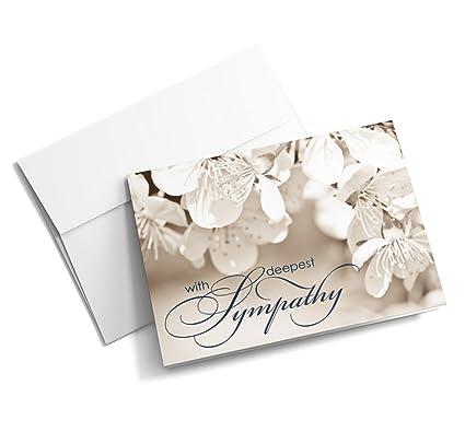 Amazon Com Softly Sympathetic Sympathy Cards 25 Junior