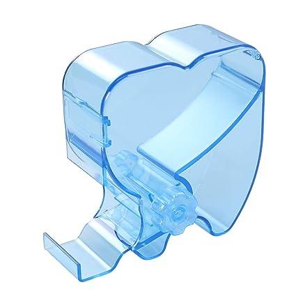 Healifty Dispensador de Rollo de Algodón Desechable para Dental de Odontología Oral (Azul)