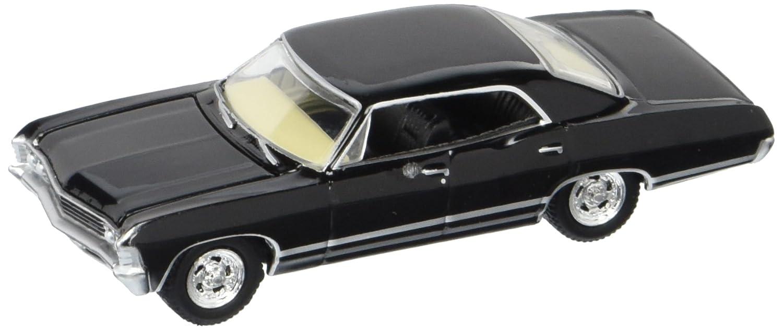 Impala 1967 black chevrolet impala : Amazon.com: Greenlight Hollywood Supernatural Join The Hunt ...