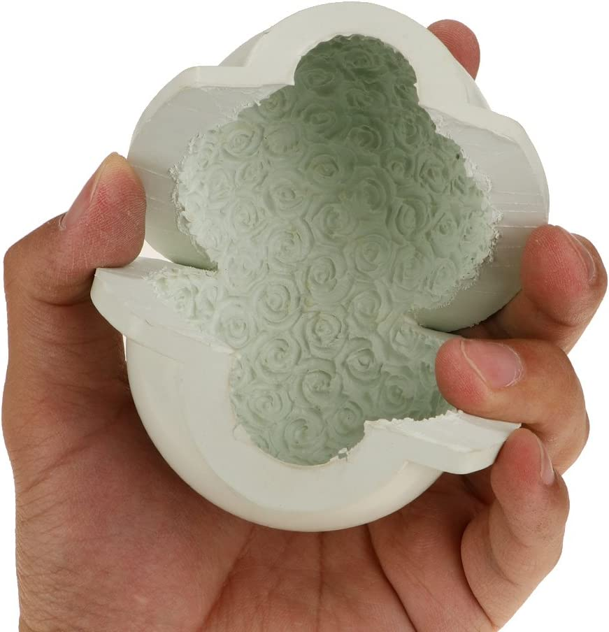 DIY Candle Making Mold Flower Ball Candle Mould Handmade Craft Accessories