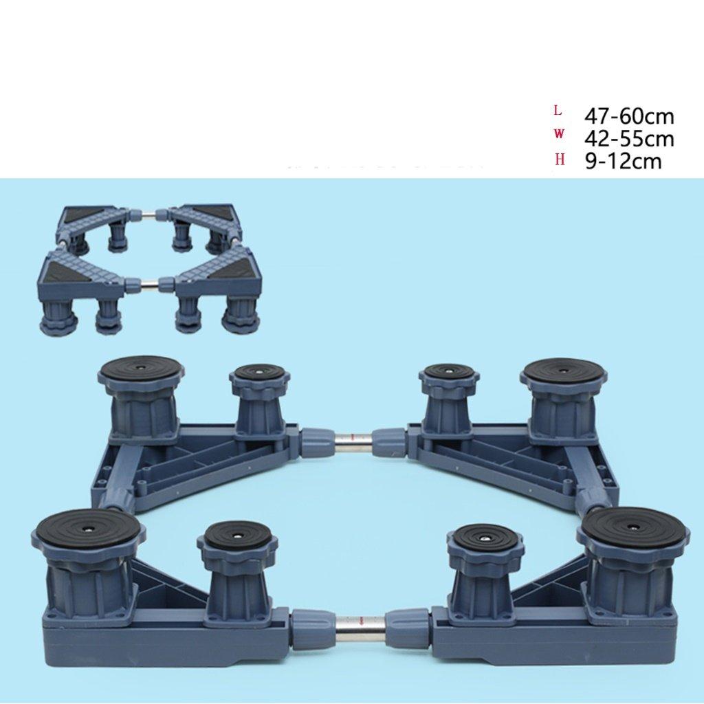 Washing Machine Base Heightening Stainless Steel Bracket -Casters (Size : 8 feet)