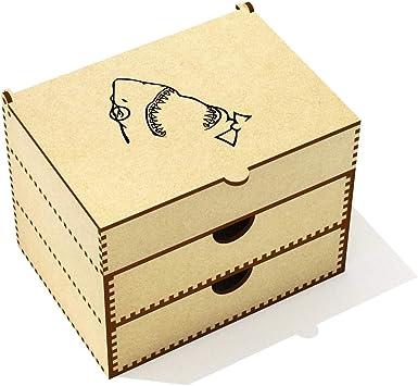 Azeeda Friki de Tiburón Caja de Maquillaje (VC00005222): Amazon ...