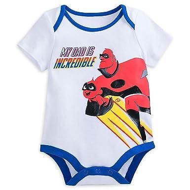 a46af3da Disney Incredibles 2 Bodysuit for Baby - White Size 0-3 Months440427021323