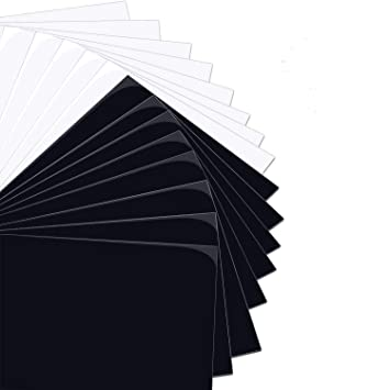 47 Pack 12 x 10 Iron on Vinyl for T-Shirt 32 Assorted Colors with HTV Accessories Tweezers for Cricut HTV Heat Transfer Vinyl Bundle Silhouette Cameo or Heat Press Machine