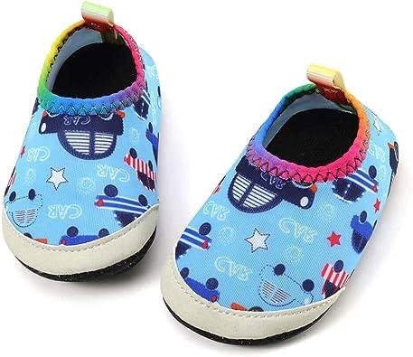 SCIEU Baby Beach Swim Water Shoes Boys