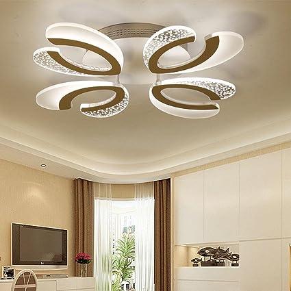 Lampadari Da Soggiorno.Yayong Lampadari Moderni A Forma Di Minimalista Led Creativo