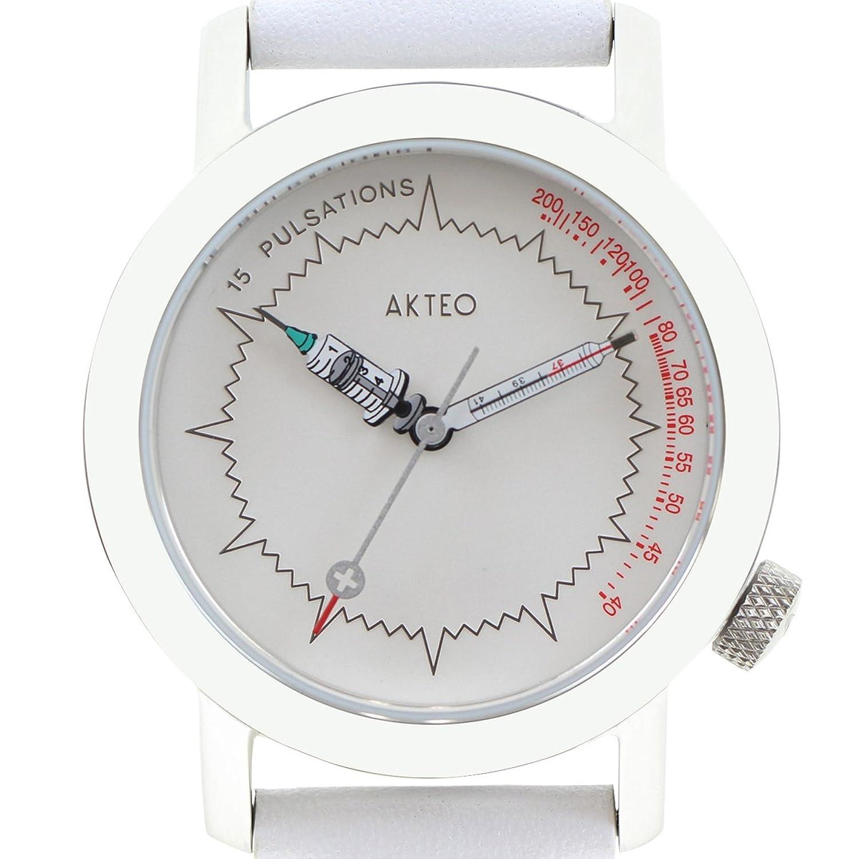 Akteo Armbanduhr Krankenschwester silber