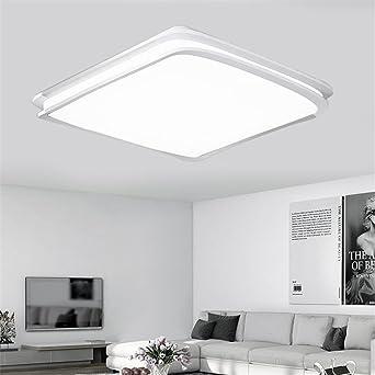 MCTECH® 64W Kaltweiß LED Deckenleuchte Deckenlampe Doppelte ...