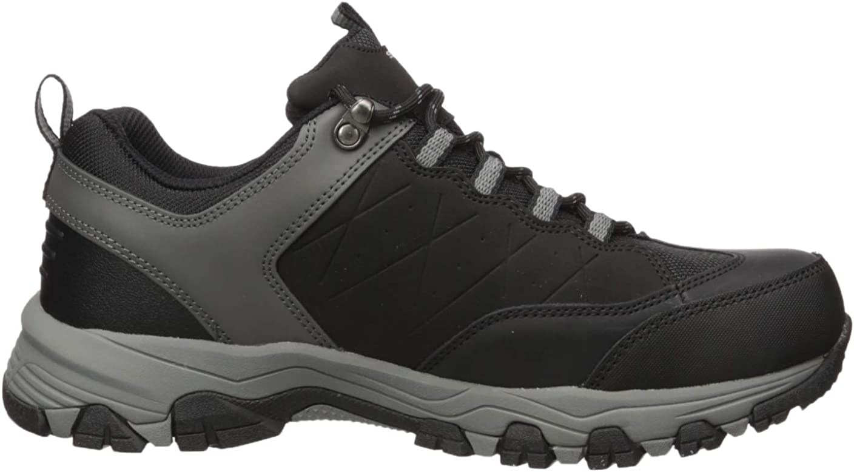 Skechers Mens Selmen-helson Trail Oxford Hiking Shoe