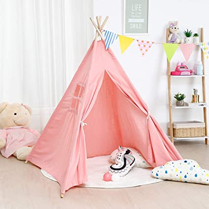 luvodi-girls-pink-teepee-tent-children