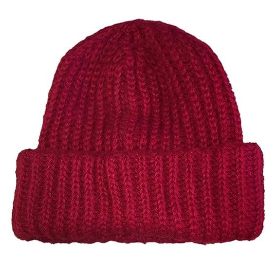 Wintermütze Damen URSING Winter Behalten Warm Häkeln Ski Hut ...