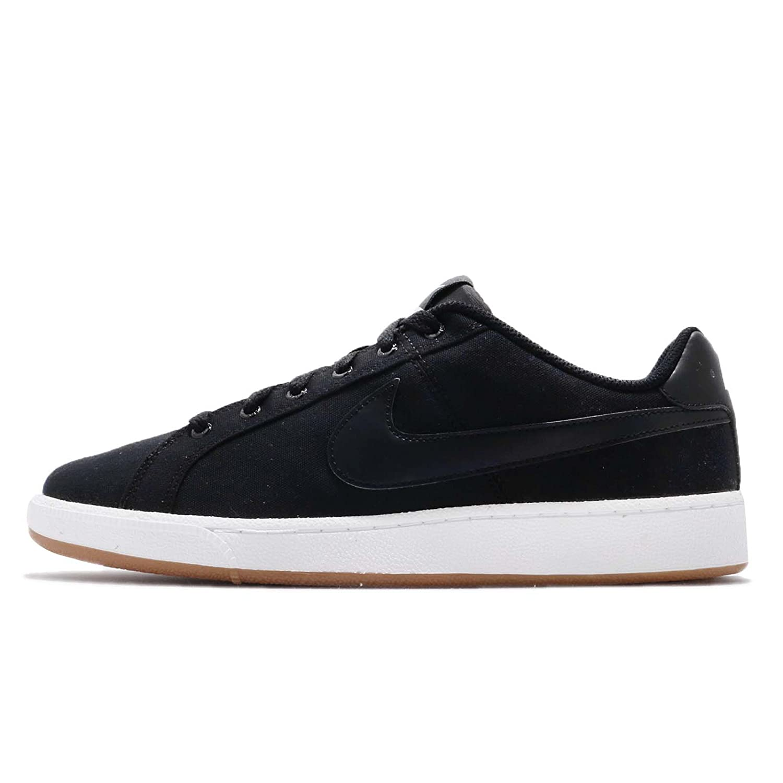 Nike Court Royale Canvas Herren Schuhe Schwarz AA2156001  43 EU|Schwarz