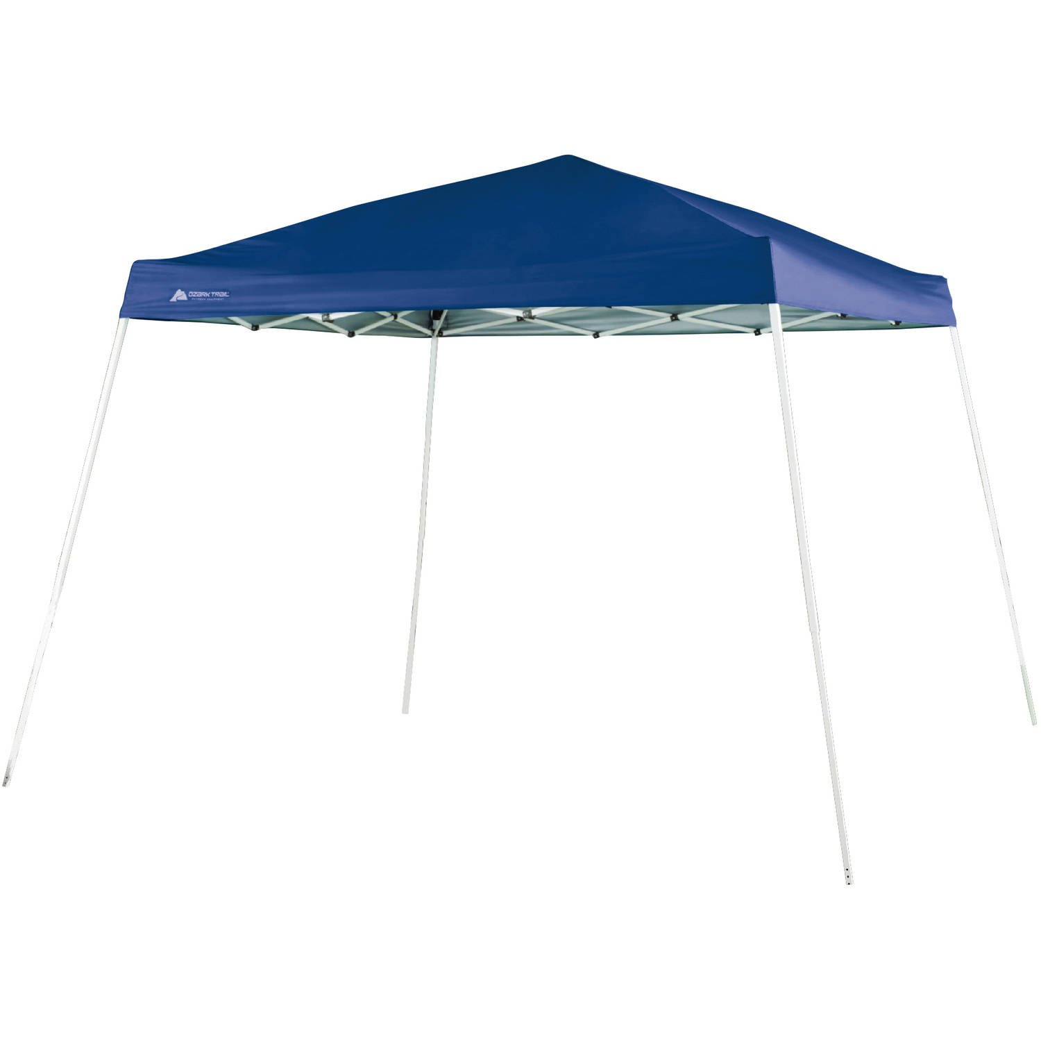 purchase cheap f6969 fdef7 Ozark Trail 10 FT X 10 FT Slant Leg Instant Setup Canopy / Gazebo Shelter /  Easy Pop Up Tent Backyard Outdoor Portable Deck Or Patio Canopy With ...