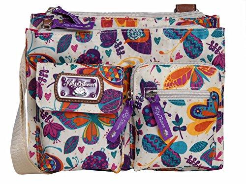 Lily Bloom Regina Crossbody Bag (BUTTERFLIES & BUGABOOS)
