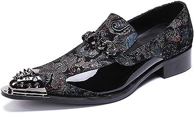 chaussures de sport Lok Fu chaussures de mari/ée en /ét/é MYXUA Tenue de c/ér/émonie hommes chaussures de ville
